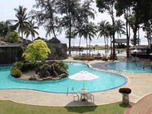 Hotelpool in Cherating
