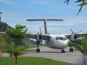 Inlandsflug in Malaysia