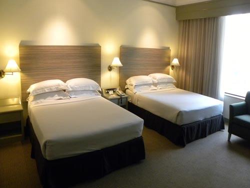Schlafzimmer im Familienhotel in Kuala Lumpur