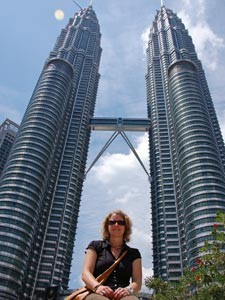 Petronas Twin Towers in der Hauptstadt Malaysias