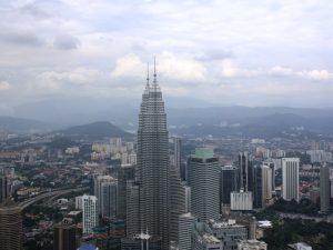 Ausblick vom Kuala Lumpur Tower