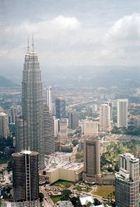 Kuala Lumpur und die Petronas Towers