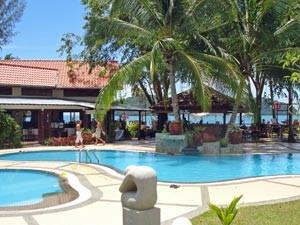 Pool im Familienhotel auf Langkawi