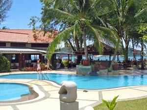 Pool im Familienhotel auf Langkawi - Malaysia 2 Wochen