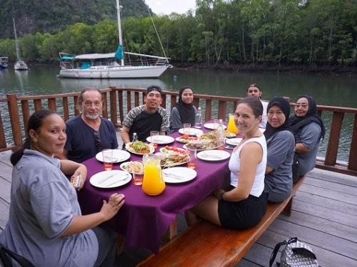 Abendessen Kilim Geoforest Park