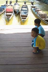 Malaysia Westküste: Wassertaxis im Taman Negara Nationalpark