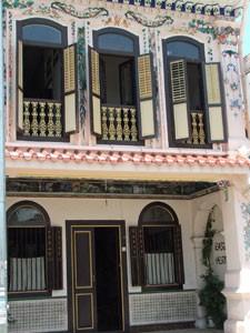 Koloniale Bauweise in Melaka