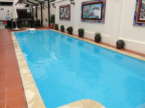 Familienhotel mit Pool in Georgetown in Penang
