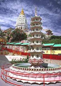 Tempelanlage in Penang
