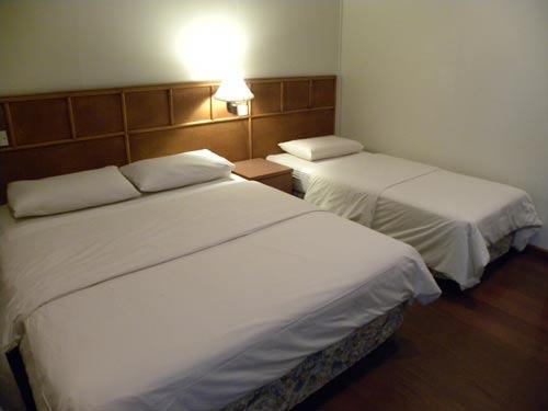 Schlafzimmer im Familienhotel auf den Perhentian Islands