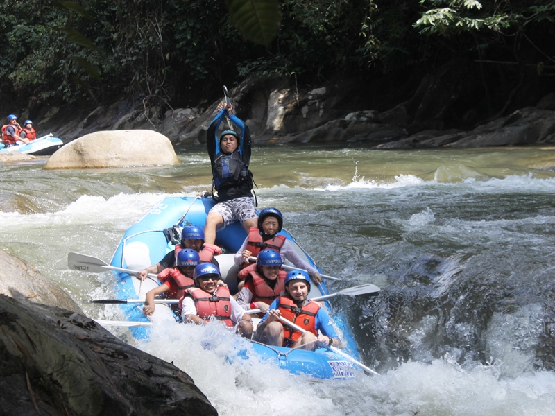 Rafting in den Cameron Highlands