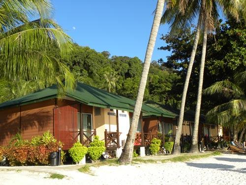 Bungalow auf den Perhentian Islands