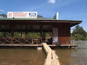 Schwimmende Restaurants im Taman Negara Nationalpark
