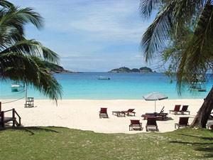Strand auf Pulau Redang