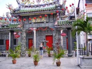 bunte Tempel auf Penang