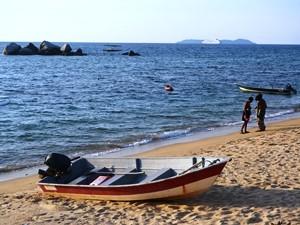 Bootsfahrt auf Tioman