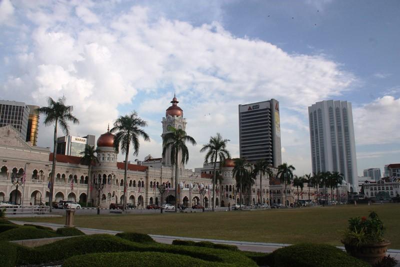 Stadtbild Kuala Lumpur