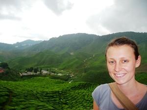 Reisespezialistin an der Malaysia Westküste