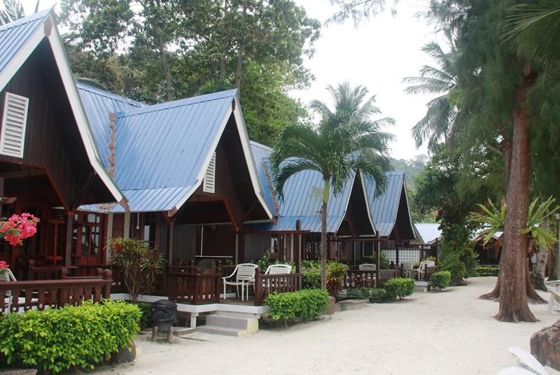 Bungalowresort auf der Insel