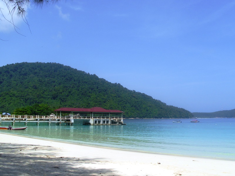 Bootssteg Perhentian Islands
