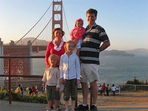 Golden Gate Bridge in den USA