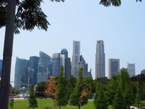 Stadtrundfahrt in Singapur