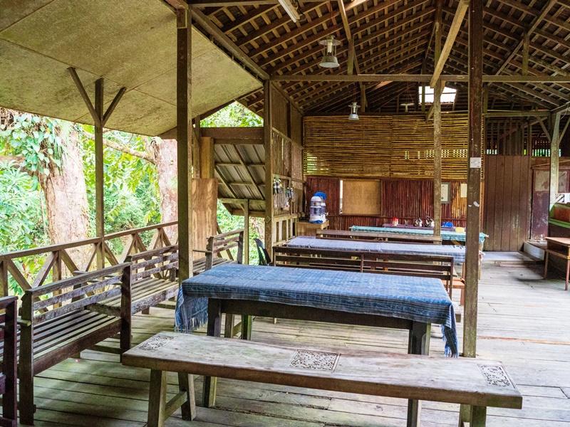Batang Ai Nationalpark Restaurant