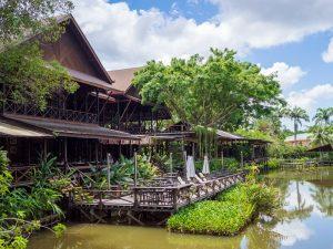 Rundreise Borneo Sepilok Hotel
