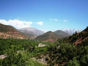 Landschaft im Atlasgebirge
