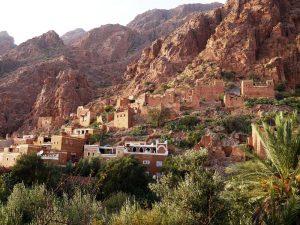 Häuser finden Sie in Tafraoute