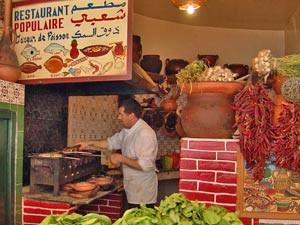 Marokkanische Garküche