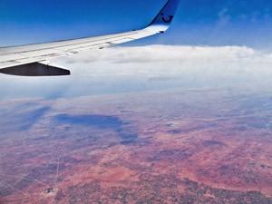 Flug Wüste Marokko Familienreise