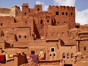 Rundreise Marokko: Lehmhäuser in Ait Benhaddou