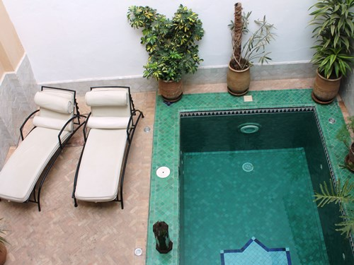 Kinderfreundliches Hotel mit Pool in Taroudant