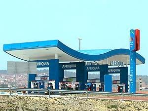 Tankstelle der Marke Afriquia