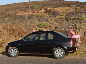 Wandern in Marokko Mietwagen Familienreise
