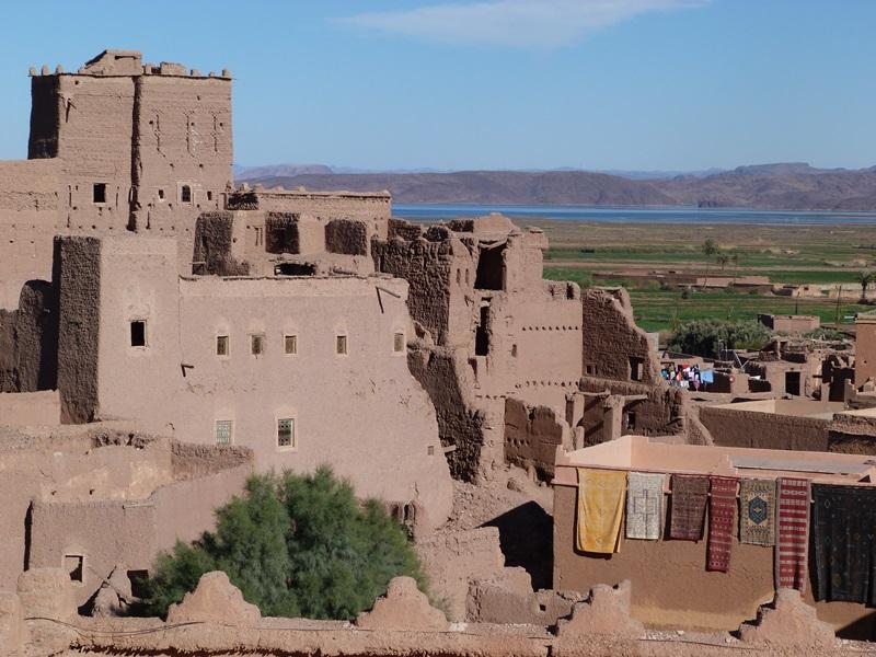 Kasbah in Ouarzazate Marokko Familienreise