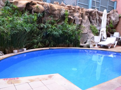 Pool in Marrakesch