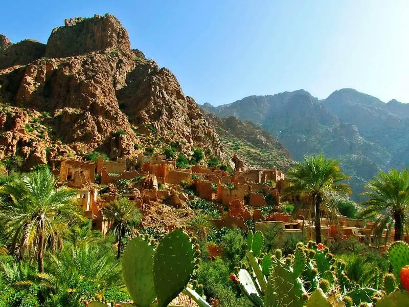 Tafraoute Landschaft