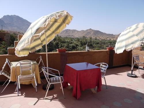 Hotel Terrasse Tafraoute Marokko Familienreise
