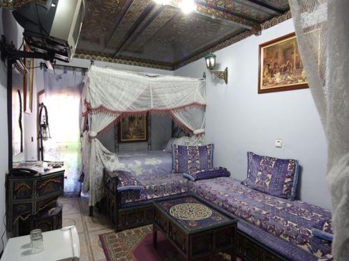 Schlafzimmer in Marrakesch