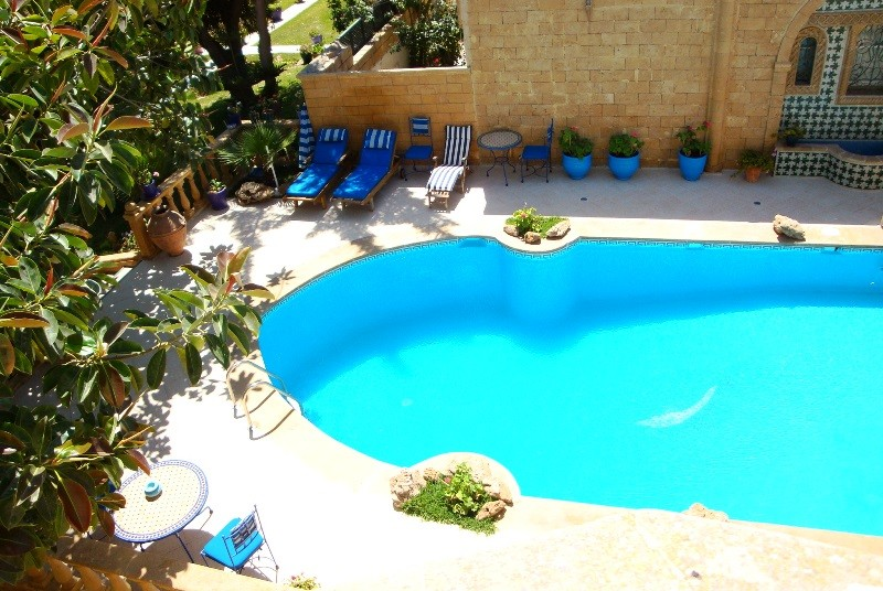 Hotelpool in Essaouira