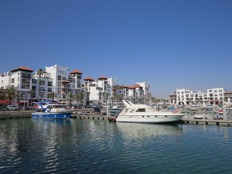Agadir Hafen Rundreise Familienurlaub Marokko