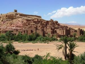 Wüste Marokko Kasbah Ait Benhaddou