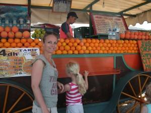 Familienreise Marokko Djemaa El Fna Marrakesch