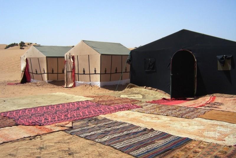 Zeltcamp Wüste Merzouga Marokko Rundreise