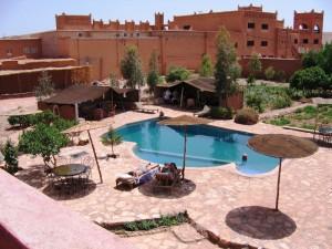 Königsstädte Marokko: aitbenhaddou-unterkunft