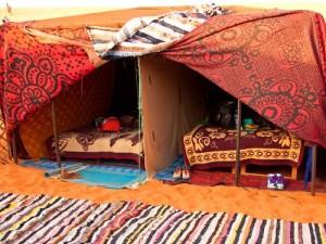 Biwak in der Wüste