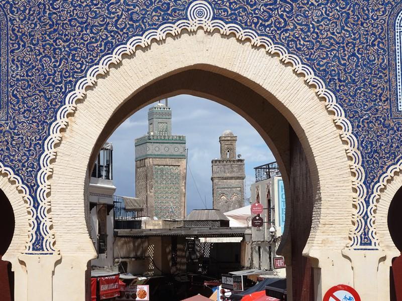Stadttor Fes Marokko Stadtbsichtigung