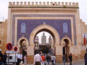 Marokko Königsstadt Fes Stadttor